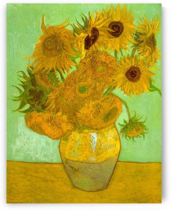 Twelve Sunflowers by Van Gogh by Van Gogh