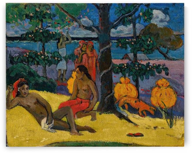 Paul Gauguin Te Arii Vahine     La Femme Aux Mangos II by TOPARTGALLERY