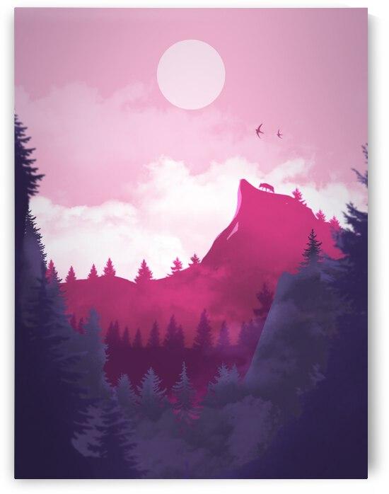 Purple Mountain by CarlosDoesPhoto