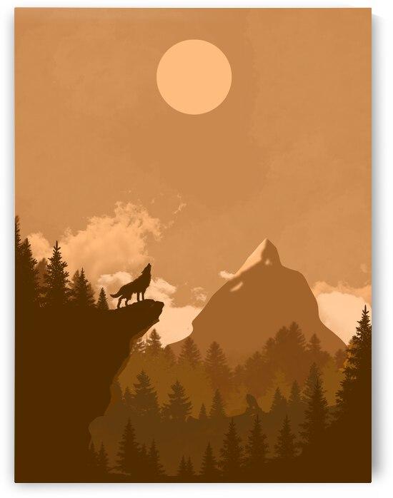 Mountain Wolf Day by CarlosDoesPhoto