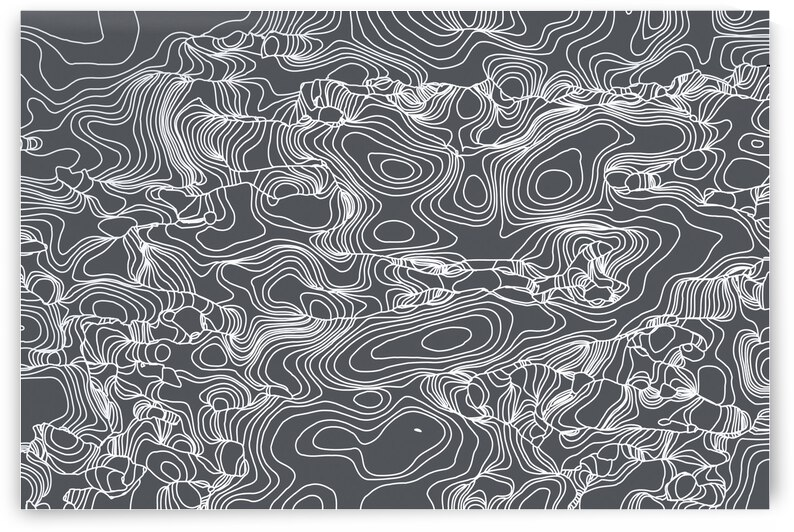geometric line abstract art background in black and white by TimmyLA
