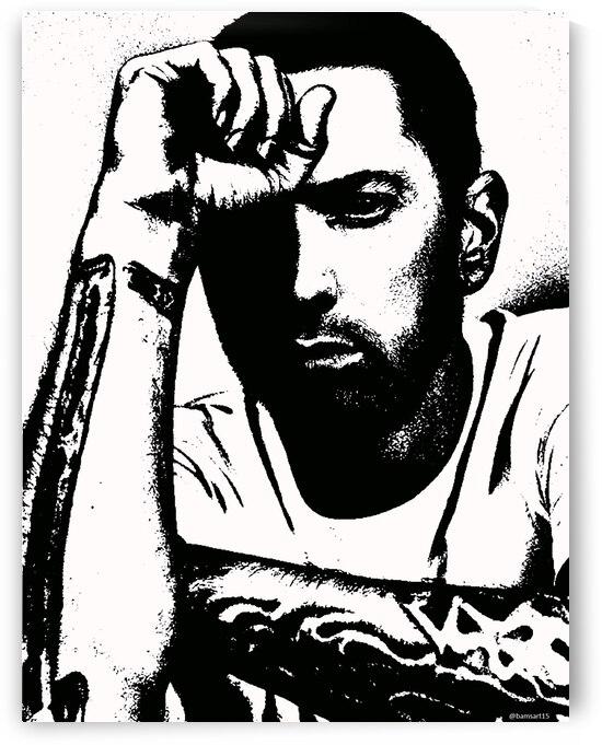 Eminem by Bam Wilcox