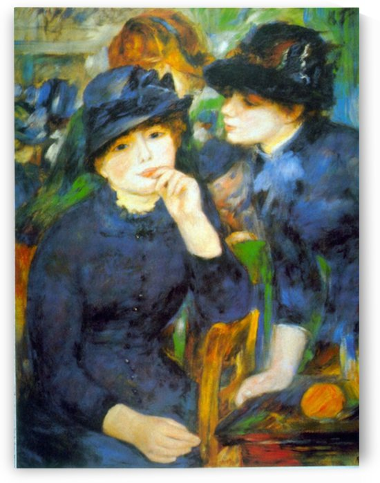 Two Girls by Renoir by Renoir