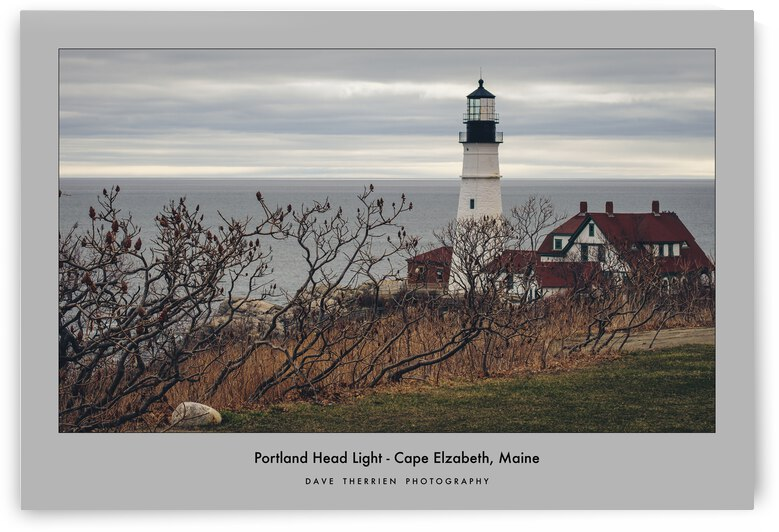 Portland Head Light2  by Dave Therrien