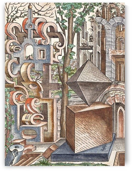 Lorenz Stoer Geometria et Perspectiva Pl 01 1567 by TOPARTGALLERY