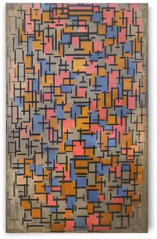 Piet Mondrian Composizione 1916 by TOPARTGALLERY