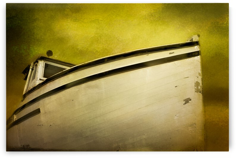Old Boat by Michel Soucy