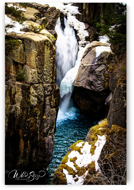 Shell Falls - 1 by Wild Sage Photography