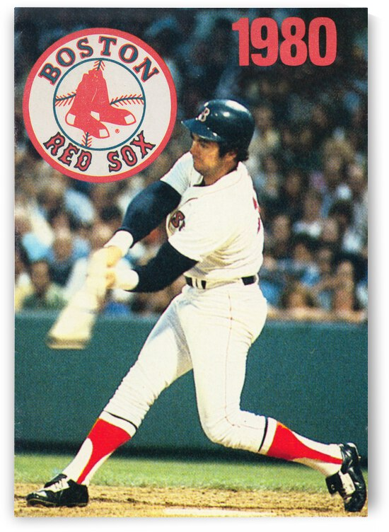 1980 Boston Red Sox Poster by Row One Brand
