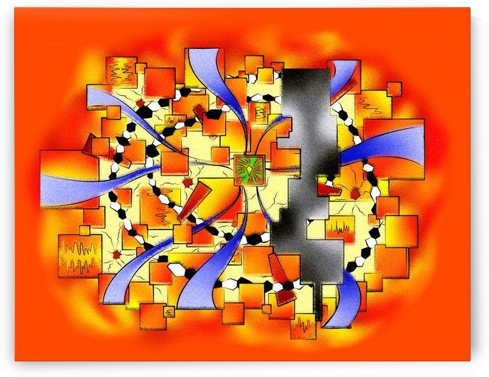 Deselia V3 - abstract digital artwork by Cersatti Art