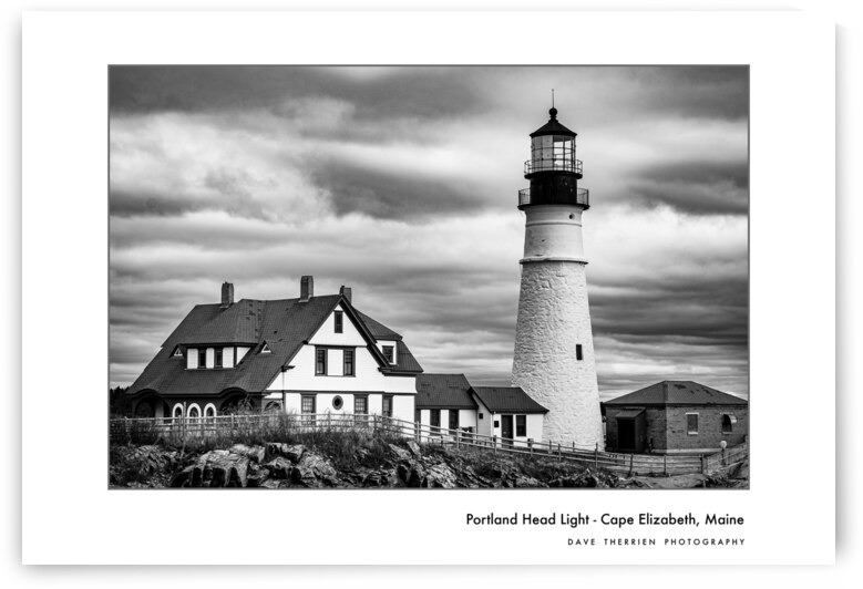 Portland Head Light 2 by Dave Therrien
