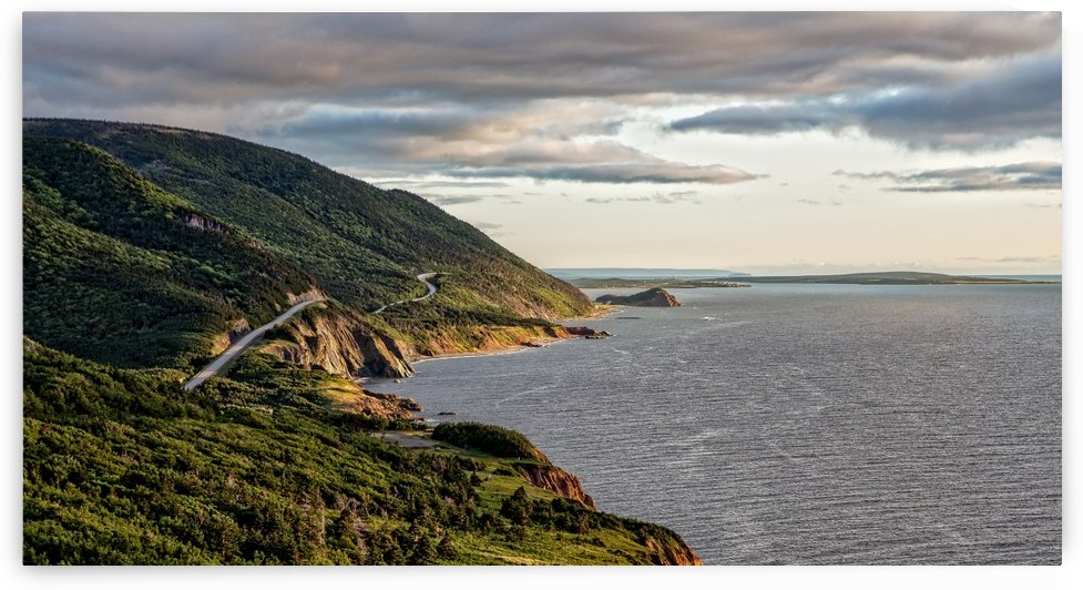 Summer on the Cabot Trail by Michel Soucy