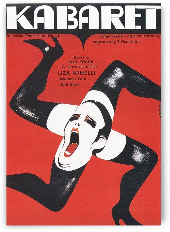 Polish Film Poster Cabaret Wiktor Gorka by VINTAGE POSTER