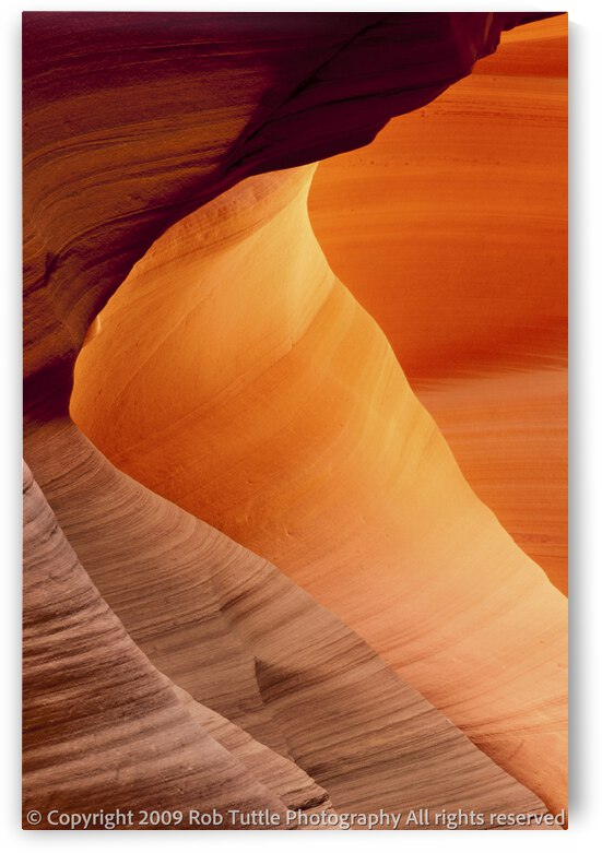 Slot Canyon 1 by Robert Tuttle
