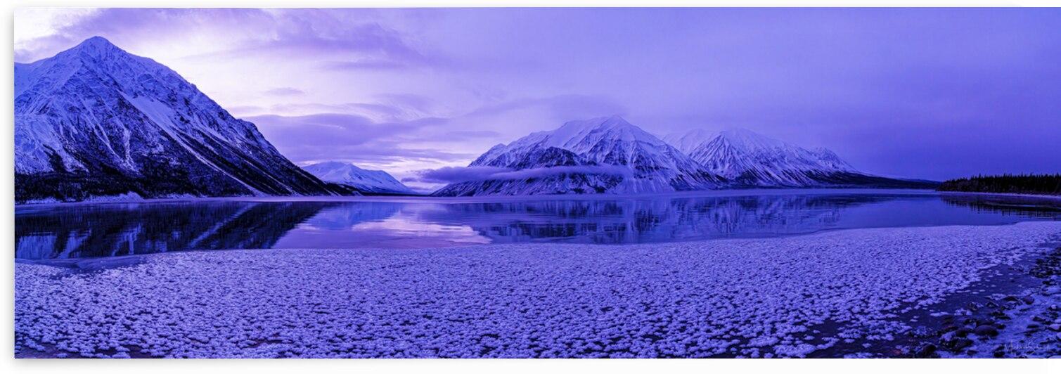 Freeze Up Kathleen Lake  - MSP21102 by MICHAEL SCHMIDT PHOTOGRAPHY