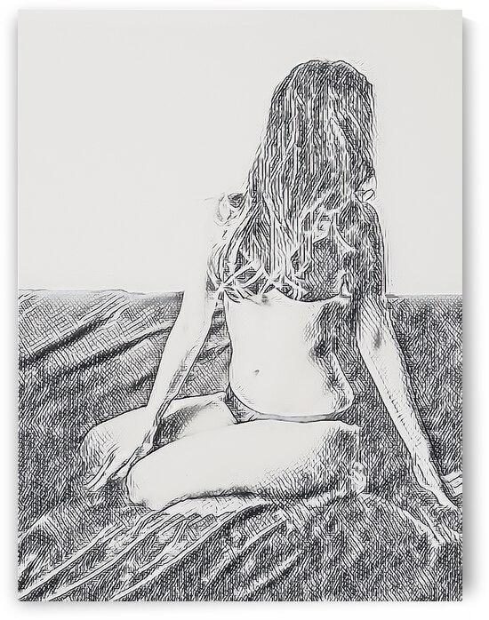Beautiful girl by Giulio Bardelli
