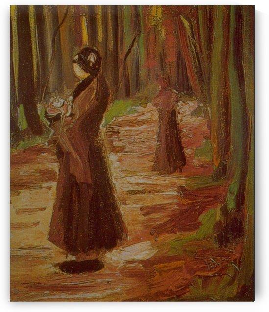 Two Women by Van Gogh by Van Gogh