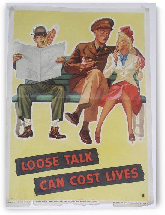 Vintage War Poster by VINTAGE POSTER