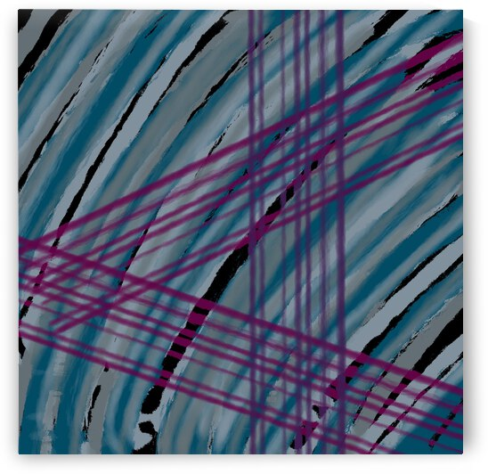 DIGITAL ILLUSTRATION - Abstract  Lines   by Lisa Shavelson