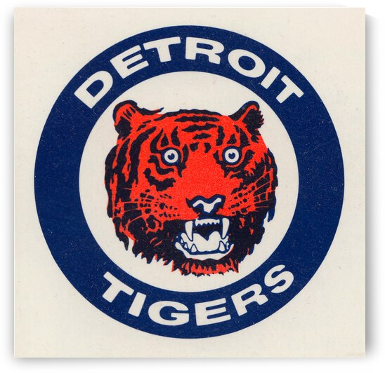 1988 Detroit Tigers Art by Row One Brand