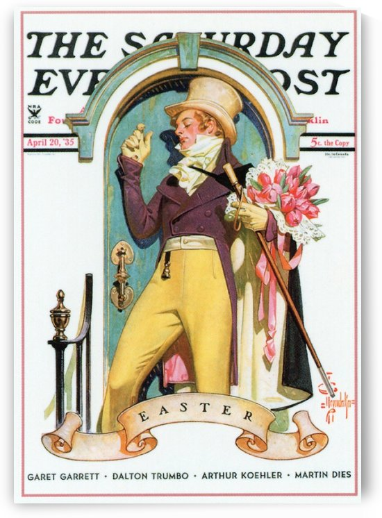 The Saturday Evening Post, Cover, April 20, 1935 by VINTAGE POSTER
