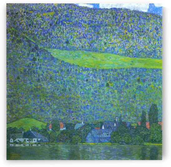 Unterach at the Attersee by Klimt by Klimt