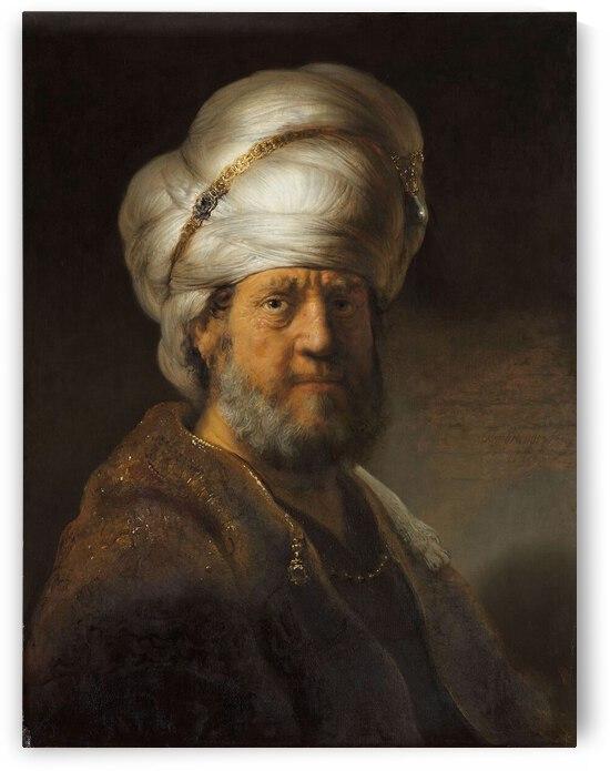 Man in Oriental Clothing by Tony Tudor