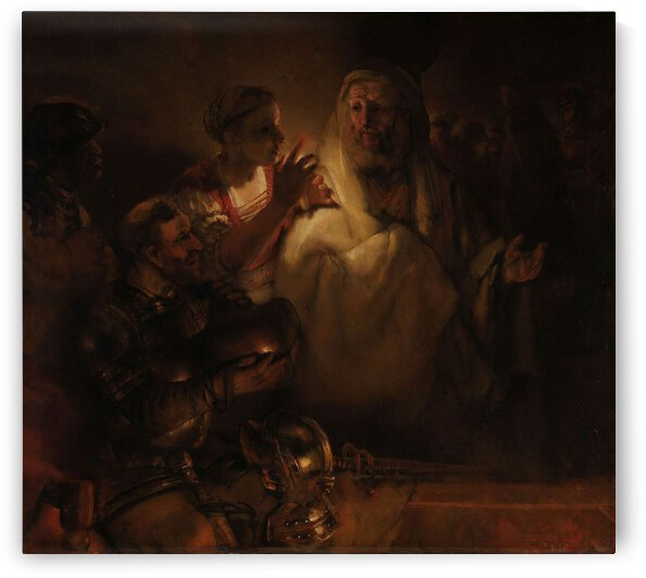 The Denial of St Peter by Tony Tudor