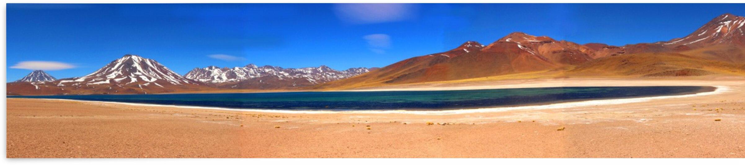 Atacama Desert -  Miscanti Lagoon by Marcelo Jose da Silva de Magalhães