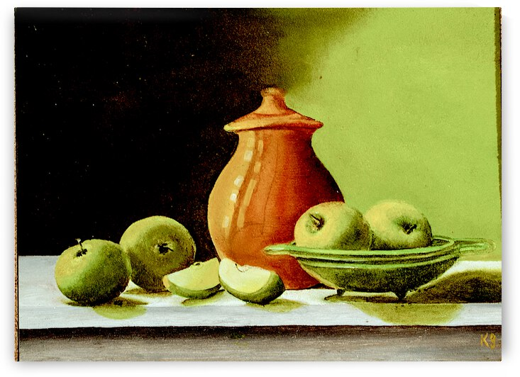 STILL LIFE 17 by Keith Gustin
