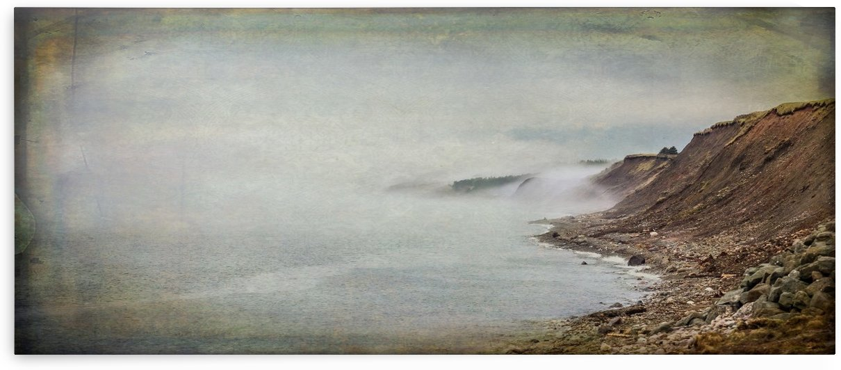 Fog in Grand Etang - Cape Breton by Michel Soucy