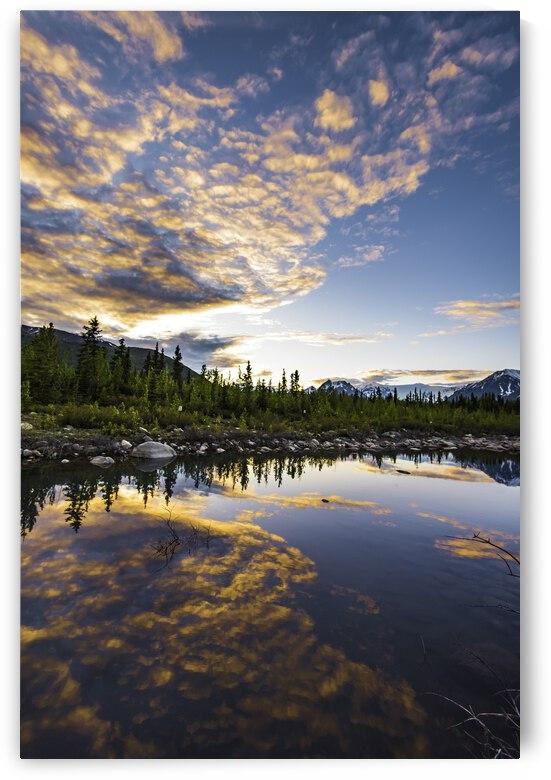 Alaskan Evening by Lucas Moore