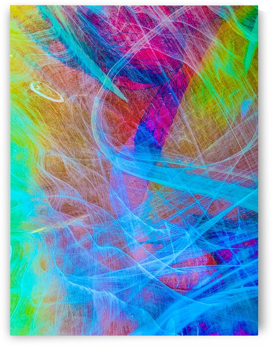 ETHEREAL-APPROACHING COLORS by Lisa Joy Newcomb