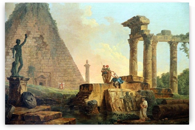 Chronicles of Nothing by Hubert Robert