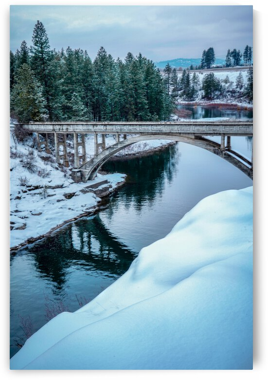 Post Falls Dam Bridge by go explore 7b