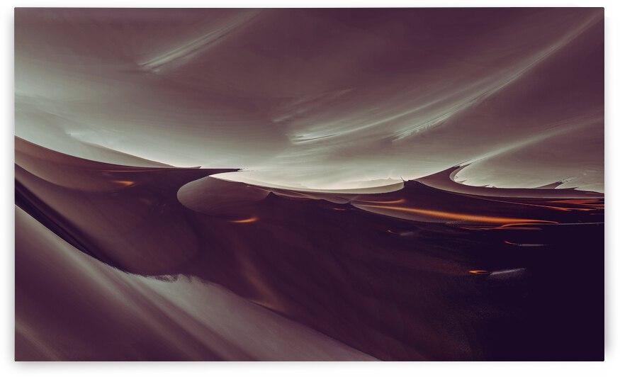 Delphis Waves  2  by Jean-Francois Dupuis