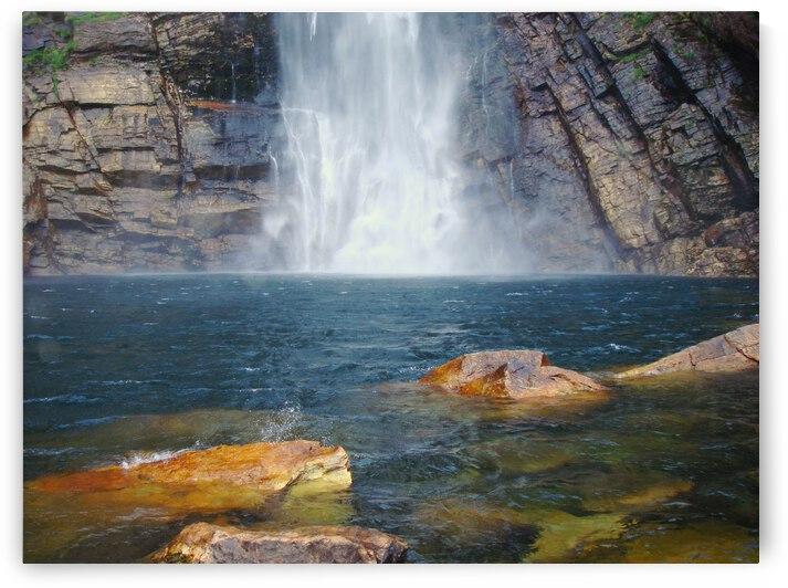Casca Danta Falls    Brazil  1  by Marcelo Jose da Silva de Magalhães