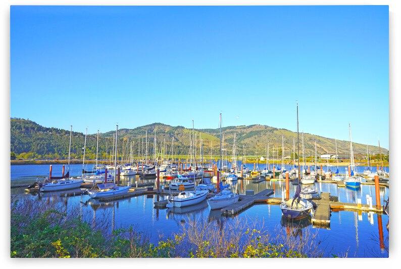 Perfect Day at Hood River Marina   Oregon by 1North