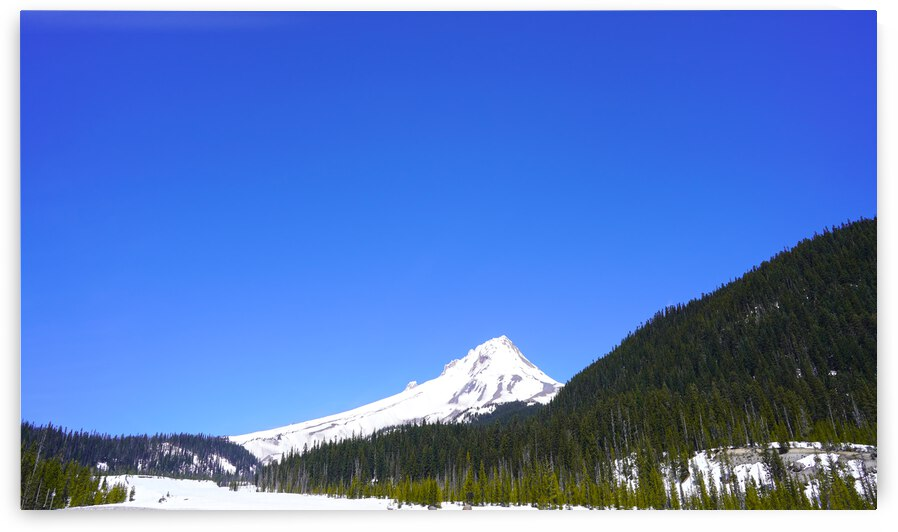 Clear Day in the Mountains - Mount Hood  - Oregon by 1North