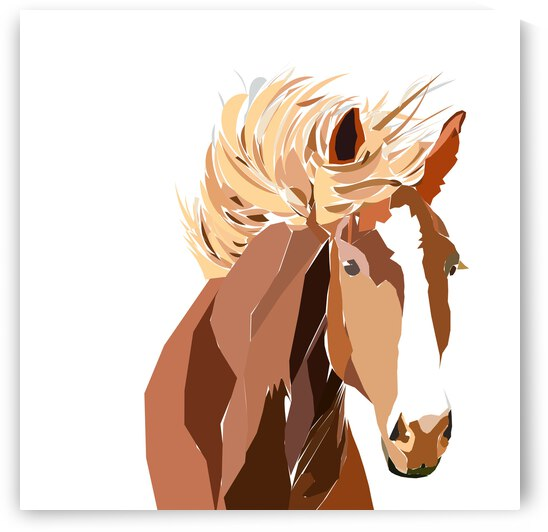 Horsewblondemane by Sarah Butcher