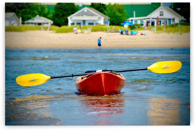 Paddle Boat ... Westbrook  Connecticut by Fred J Bivetto