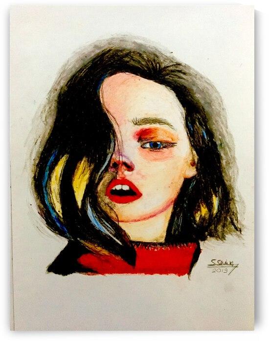 Red Sweater by artbysemih