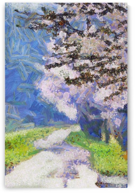 Sakura or cherry blossom inVincent Willem van Goghstyle. 70. by ArtEastWest