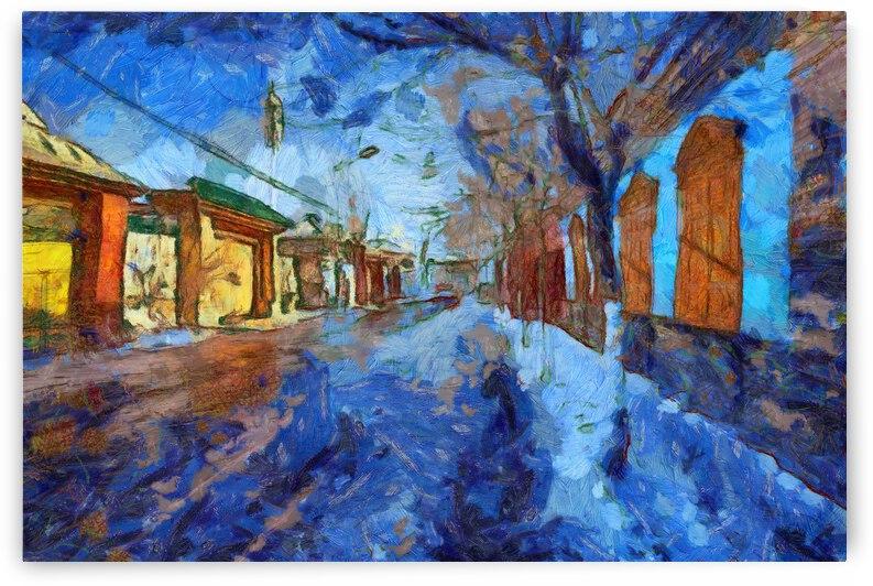 China Xinjiang Kashgar inVincent Willem van Goghstyle. 4 by ArtEastWest
