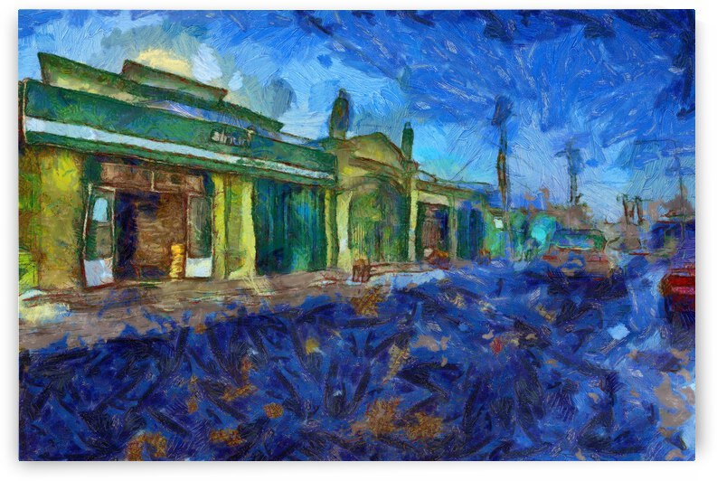 China Xinjiang Kashgar inVincent Willem van Goghstyle. 7  by ArtEastWest