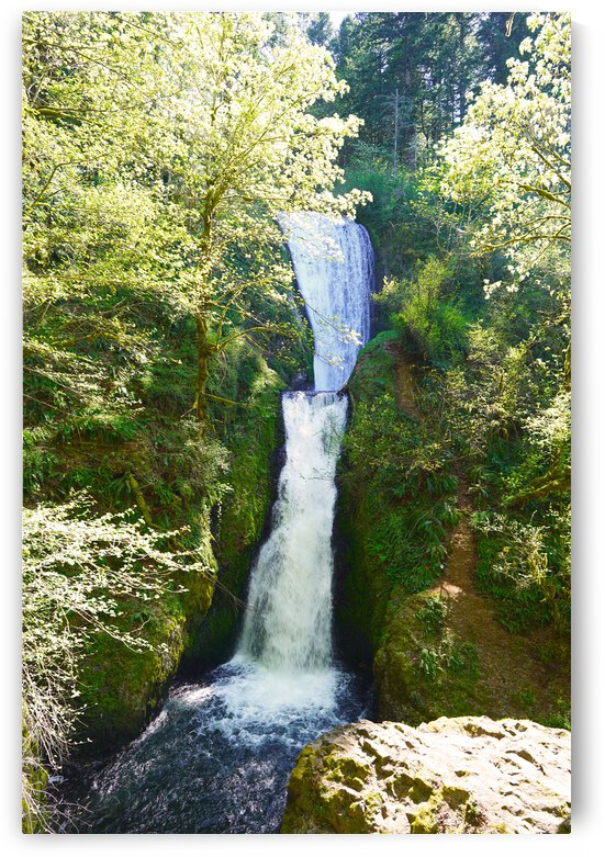 Falls in The Gorge 2   Columbia River Oregon by 1North