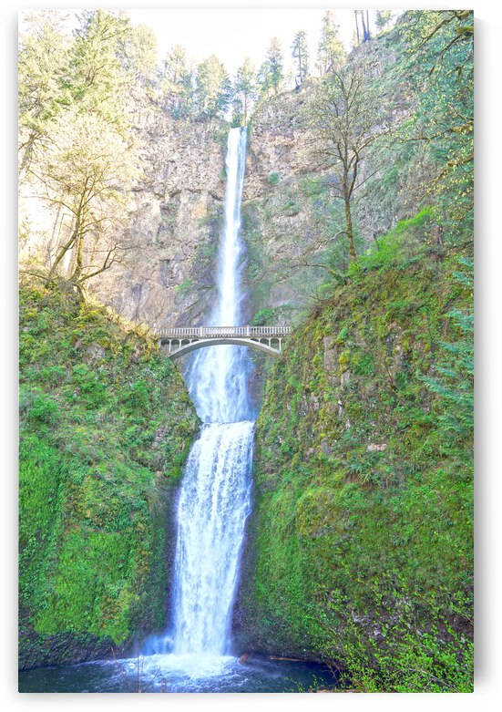 Falls in The Gorge 3 - Columbia River Oregon by 1North