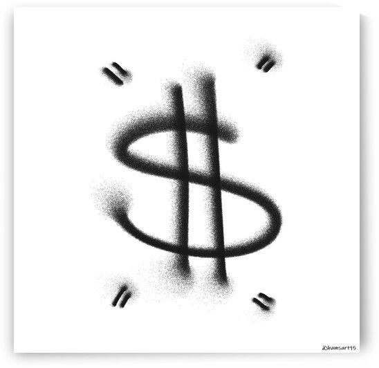 Dollar Sign by Bam Wilcox