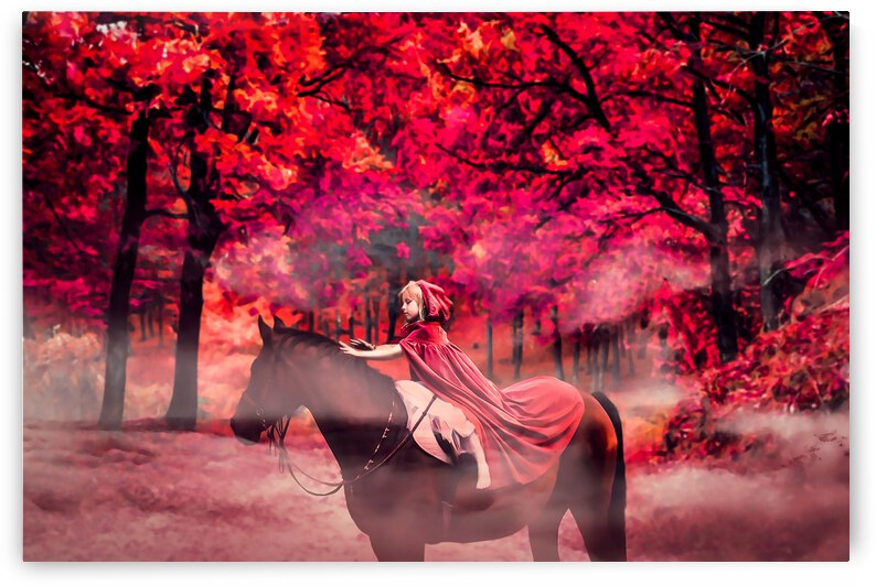 Red Rinding Hood by Angel Photo Art