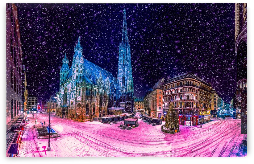 Christmas in Vienna by Angel Photo Art